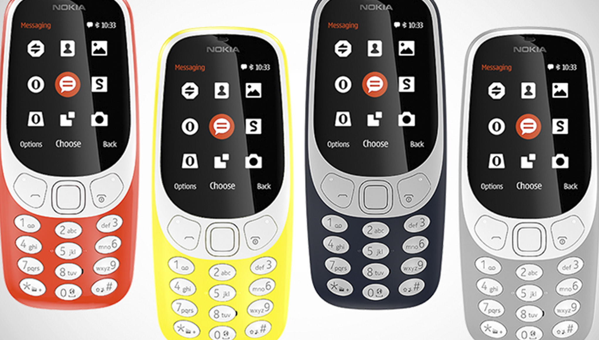 Nokia 3310, version 2017