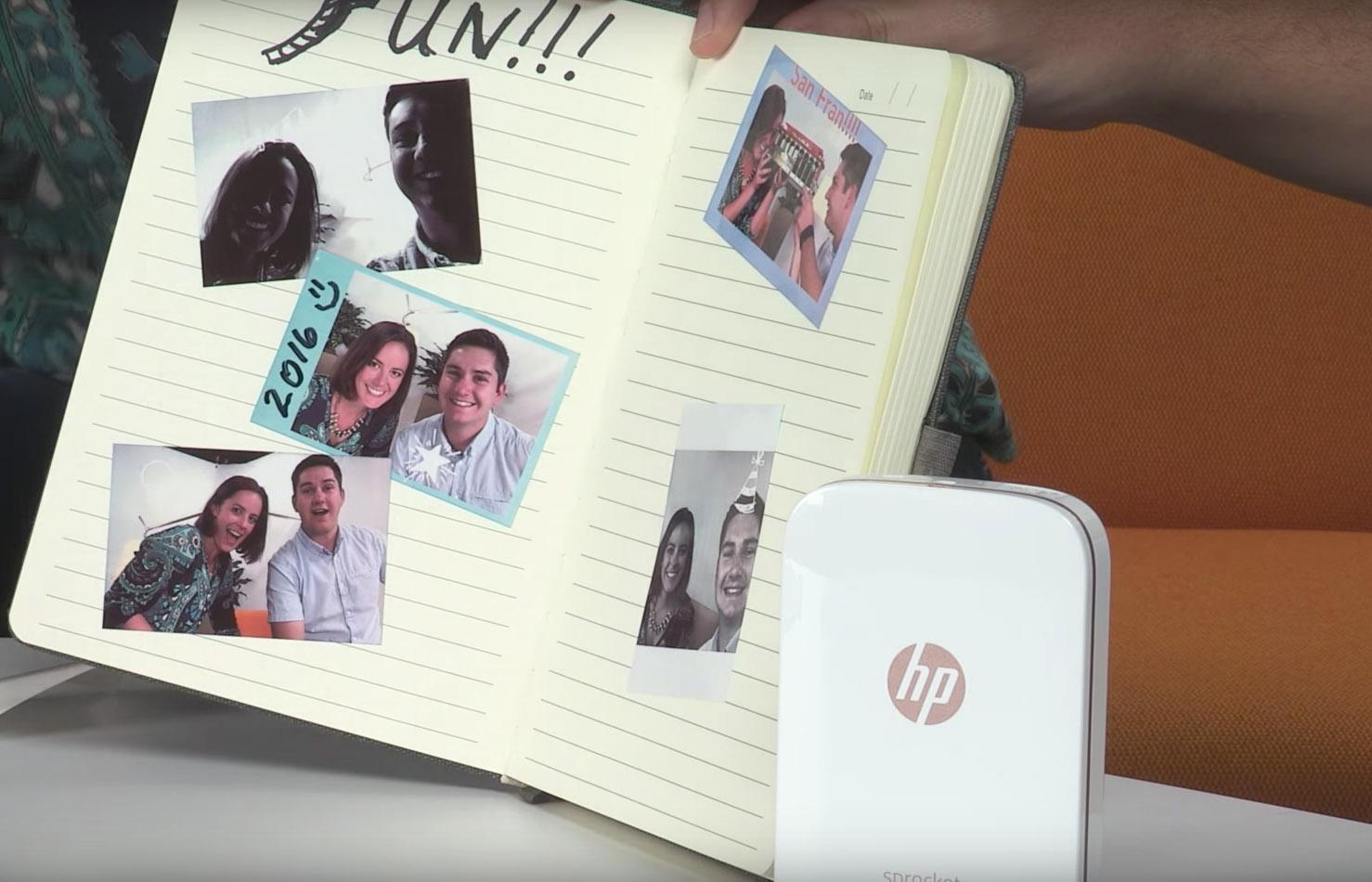 digitale billeder til papirbilleder