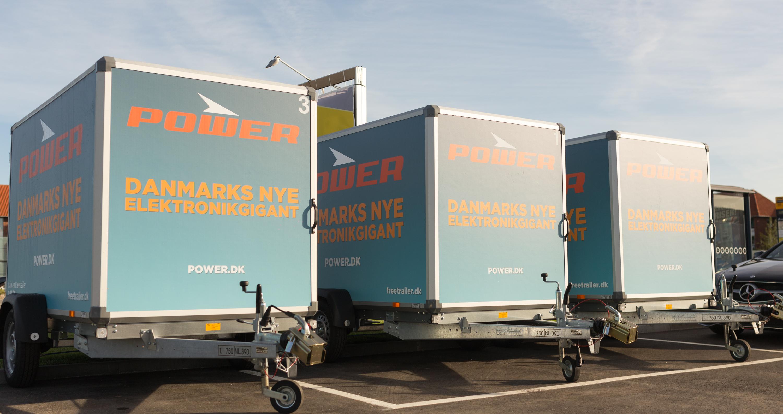 Ultra Lån en trailer gratis hos POWER - Power.dk OF47