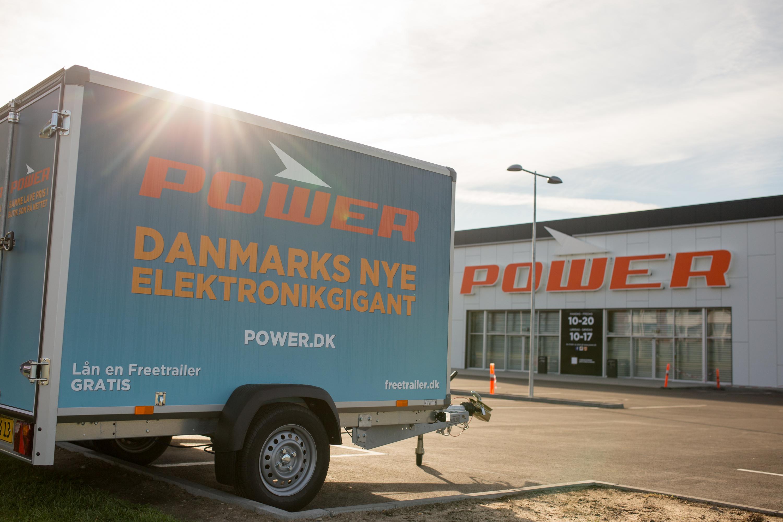Ekstra Lån en trailer gratis hos POWER - Power.dk JT24